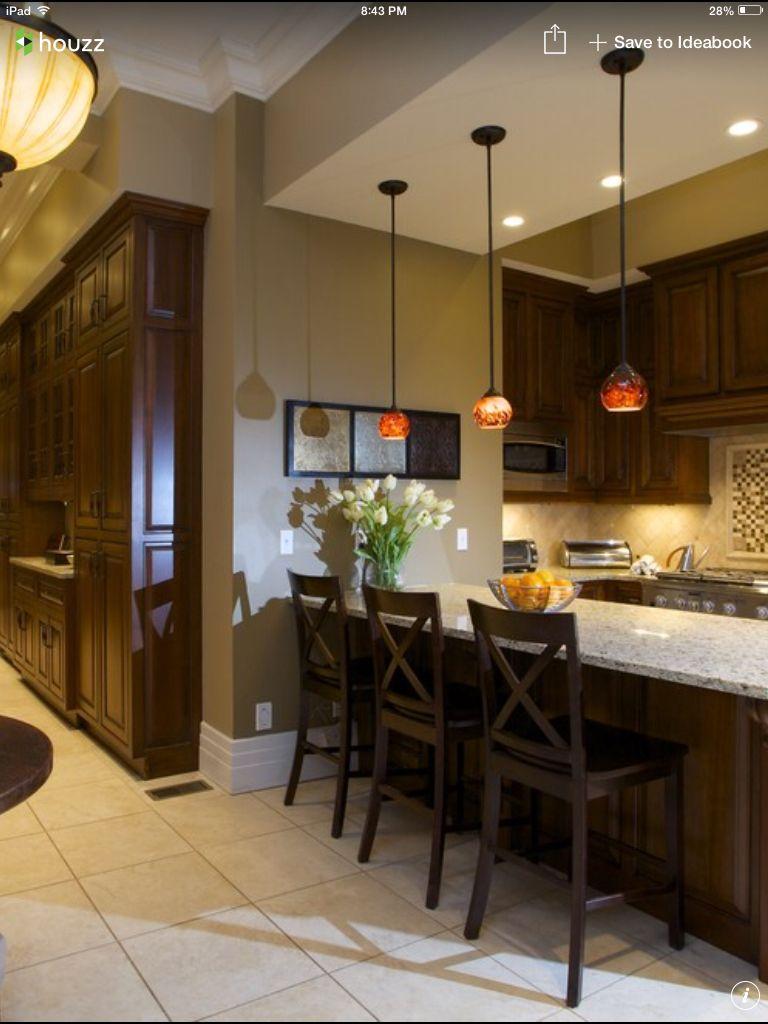 Latte colored kitchen cabinets mf cabinets - Kitchen colors dark cabinets ...