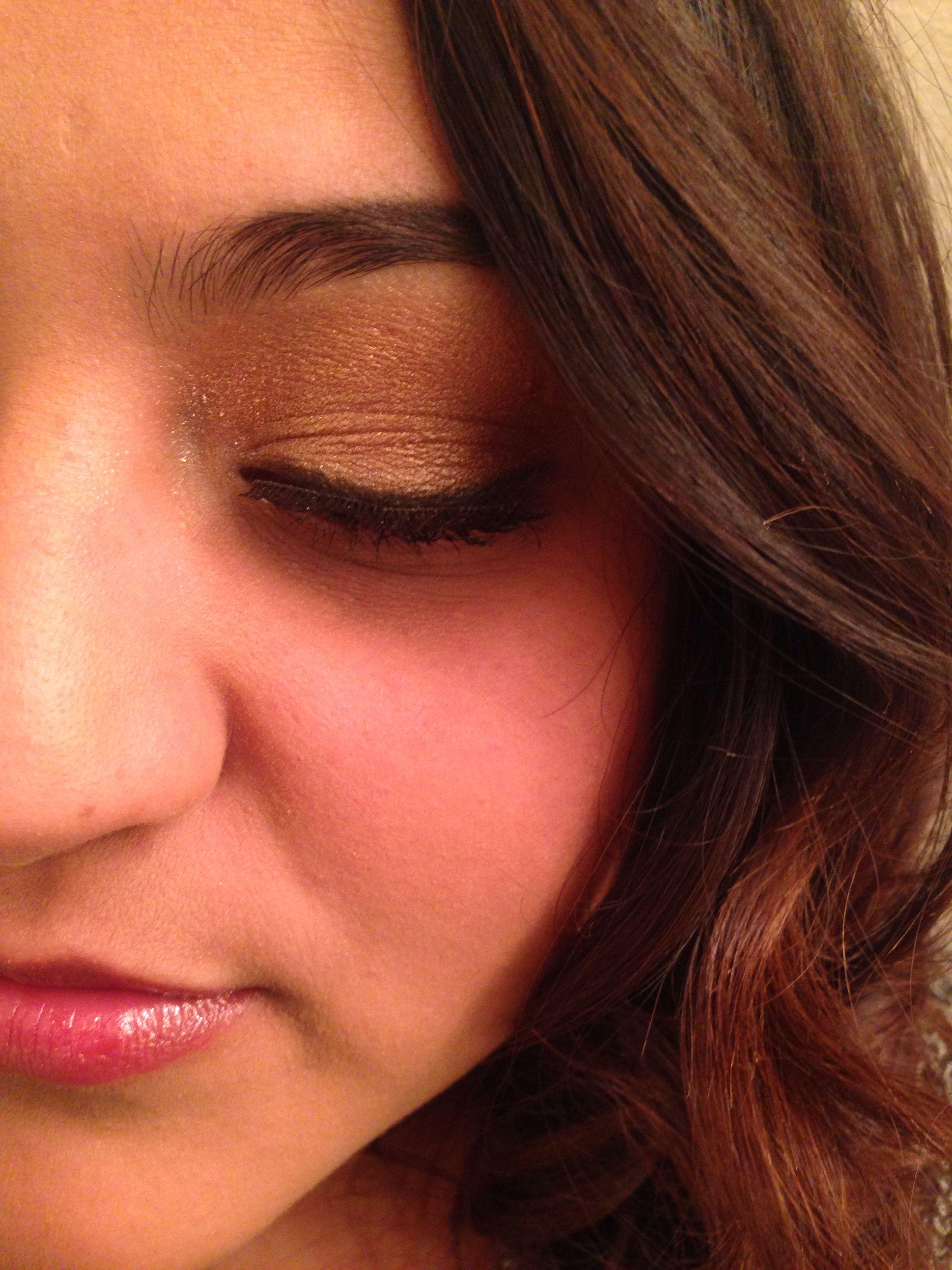 52 Best Gold Eye Makeup Looks and Tutorials | Gold eye