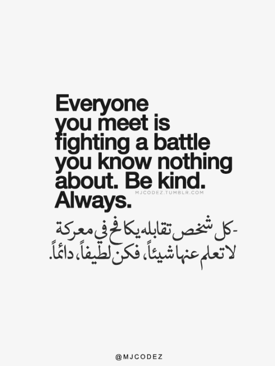 1 Tumblr's Source For Arabic Typography Quotes Words