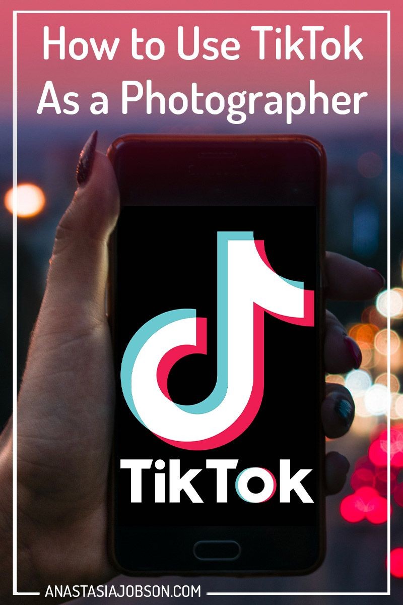 One Of The Ways To Use Tiktok As A Photographer Is To Show Your Process A Photoshoot Backstage Or Post Photographer Marketing Social Media Video Photographer