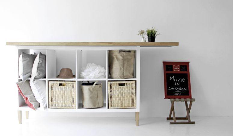 Ikea hack avec kallax et expedit de chez ikea! 20 idées inspirantes