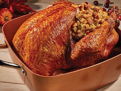 roasted holiday turkey stuffing