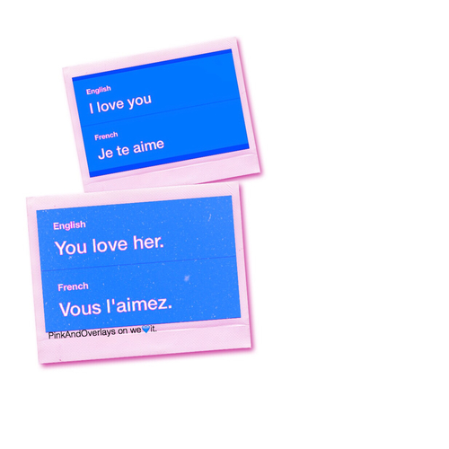 By PinkAndOverlays on weit. #blue,  #mine,  #triangle -  photos  translation,  overlay