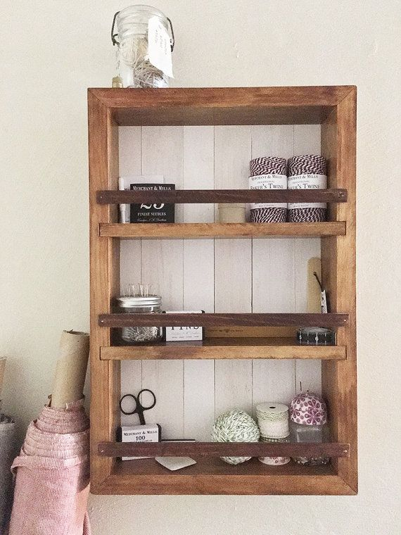 Wall Cabinet Bathroom Wall Cabinet Apothecary Cabinet Wall Cabinet Spice Rack Essential Oil Shelf Rustic Shelves Farmhouse Shelves Bathroom Wall Cabinets