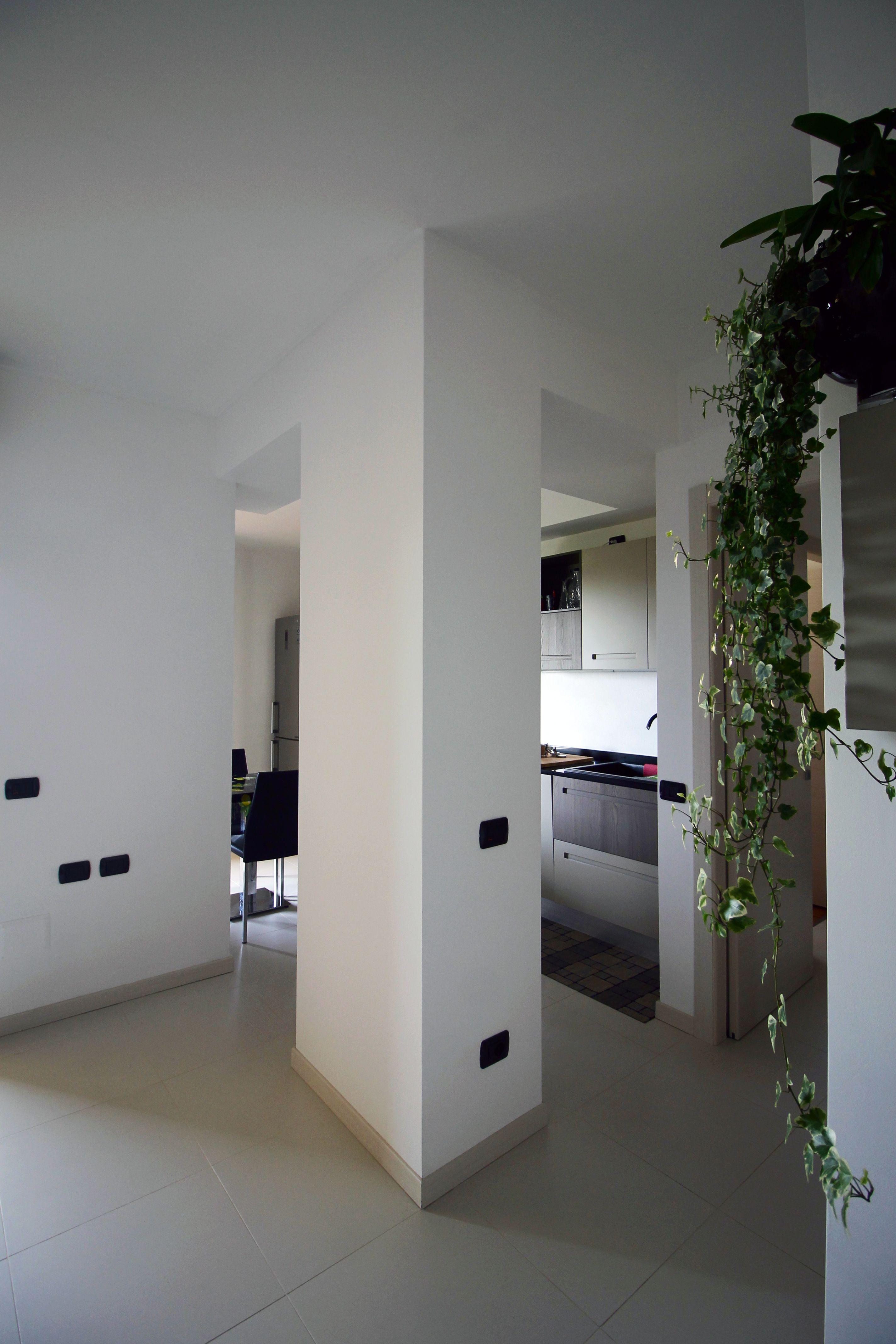Come dividere cucina e soggiorno | Getting new lights and more space ...