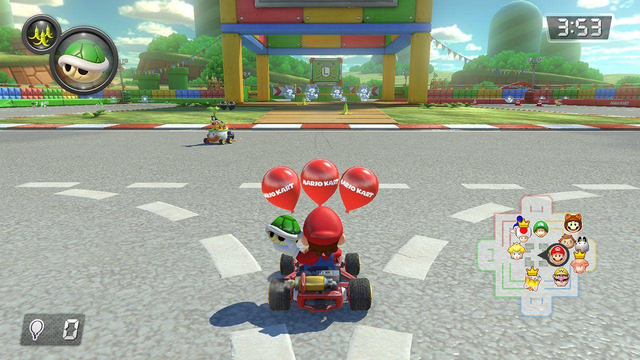 Mario kart 8 deluxe nintendo switch mariokart8 wiiu