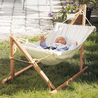 Hamac Pour Bébés Avec Support En Bois Autre Baby Kids Room En