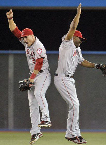 Trout Tori 3 I Miss These Together So Much They Had A Good Relationship Hunter Was A Great Role Model F Angels Baseball Anaheim Angels Los Angeles Angels