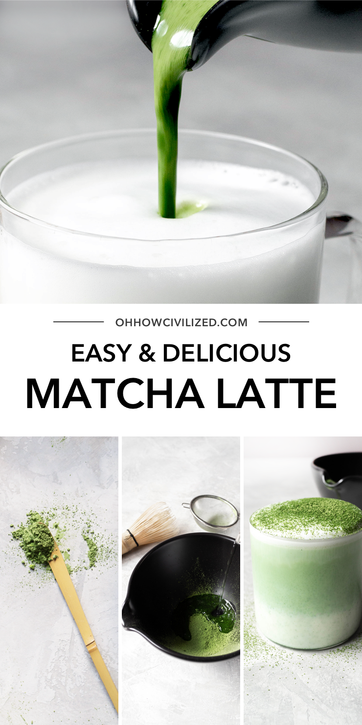 Easy And Delicious Matcha Latte In 2020 Matcha Latte Matcha Green Tea Latte Green Tea Latte