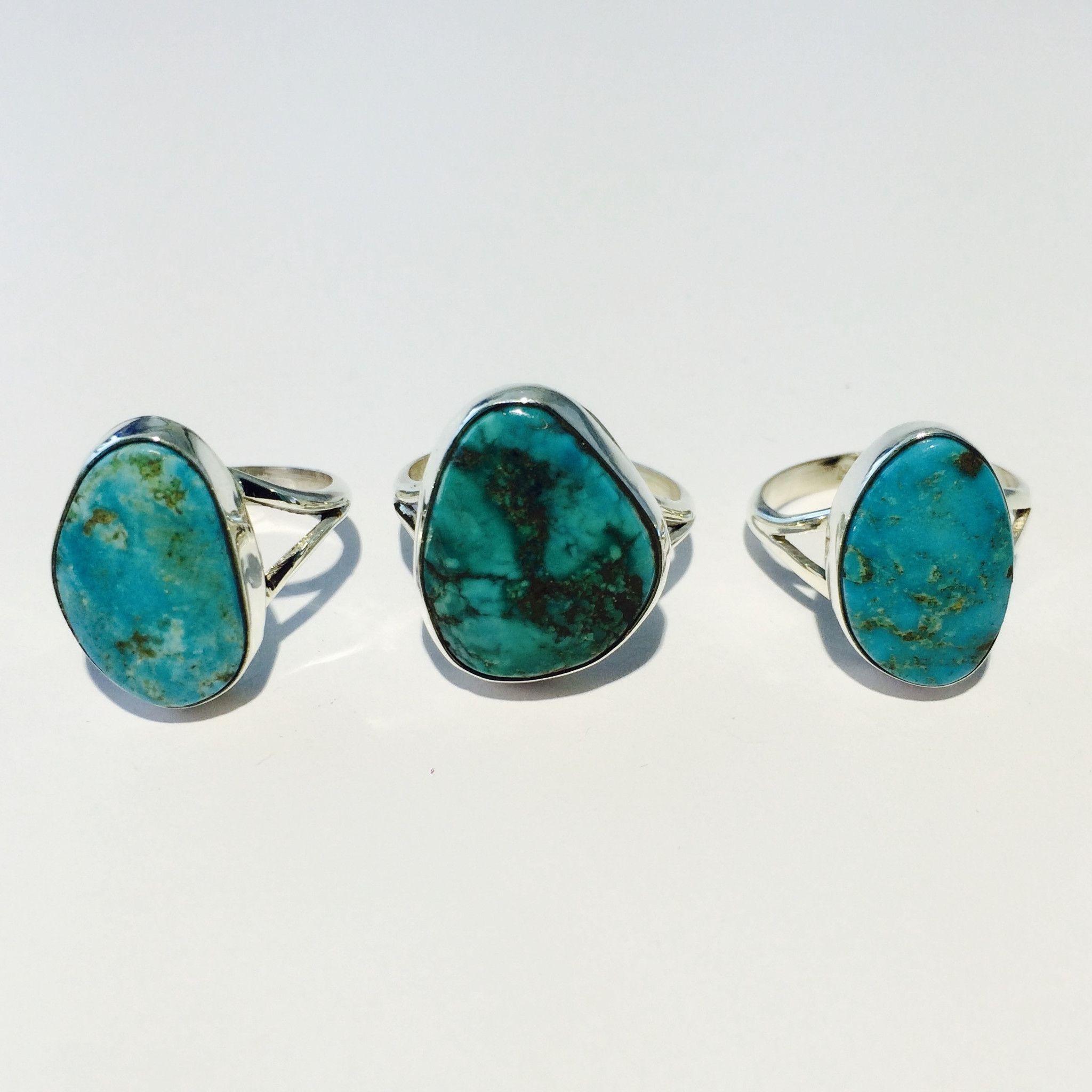Navajo Turquoise Stone Ring | Bohemian Jewels | Indie and Harper ...