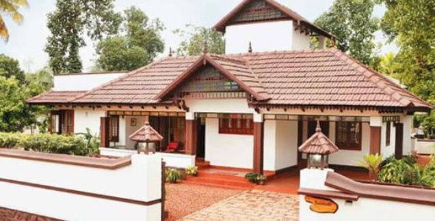 Pin By Ancy Alex On Houses Village House Design Kerala House Design Kerala Traditional House