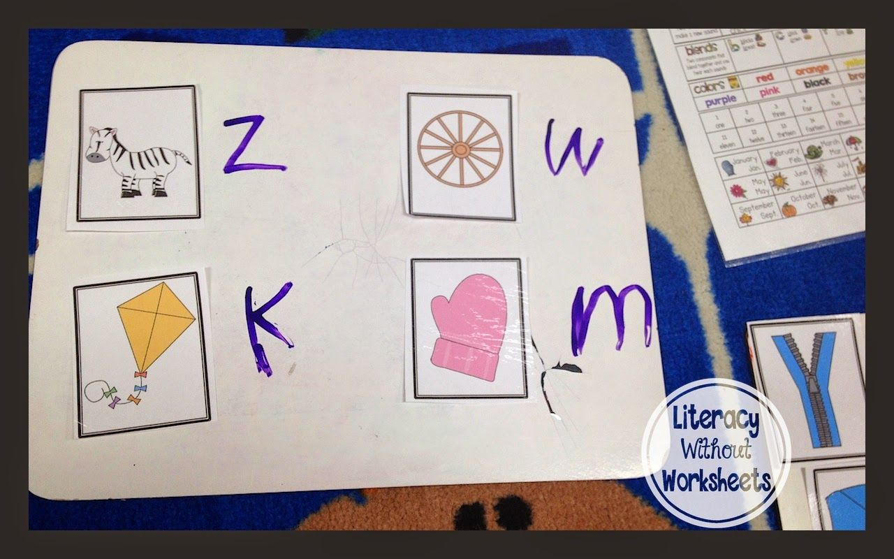Literacy Without Worksheets 10 Minute Rti Lesson