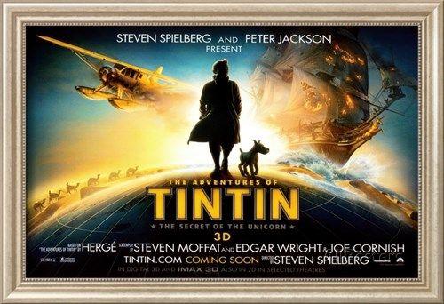 The Adventures of Tintin: The Secret of the Unicorn Masterprint sur AllPosters.fr