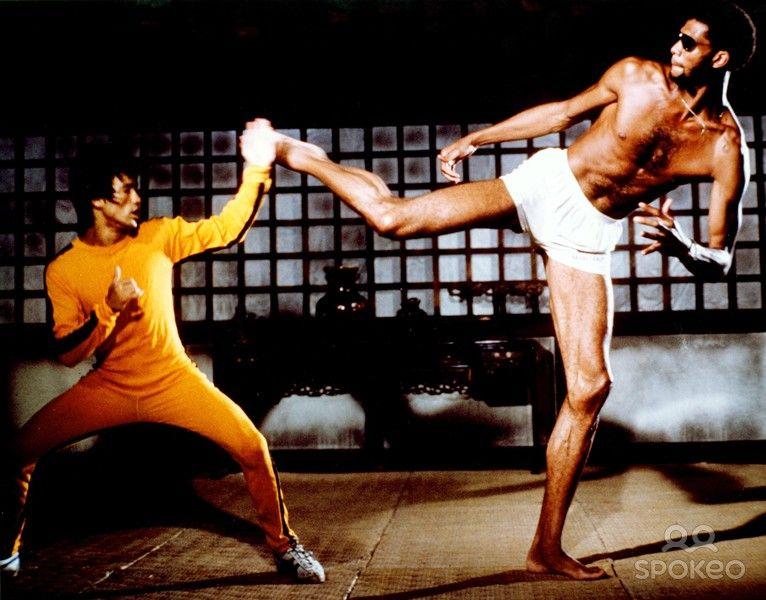 ... kicking kareem abdul jabbar in the head. tags:Bruce Lee Battle with  Wong Jack Man! Free Bruce Lee,ABC News Entertainment,Bleacher Report Sports  ...