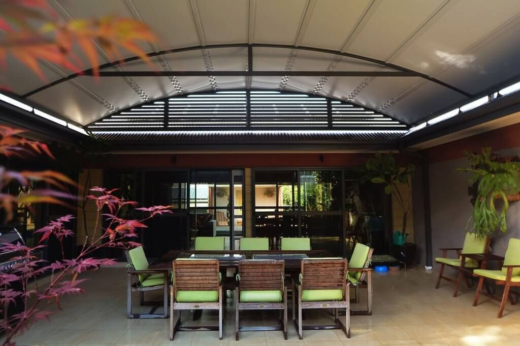 Colorbond Awnings Sydney Sydney Home Improvements By Ats Awnings And Additions Deck Designs Backyard Residential Awnings Awning
