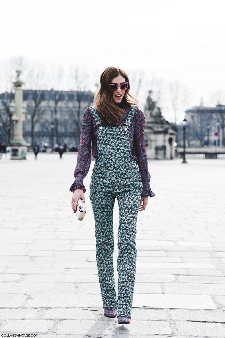 Paris_Fashion_Week-Fall_Winter_2015-Street_Style-PFW-Chiara_Ferragni-Mixing_Prints-