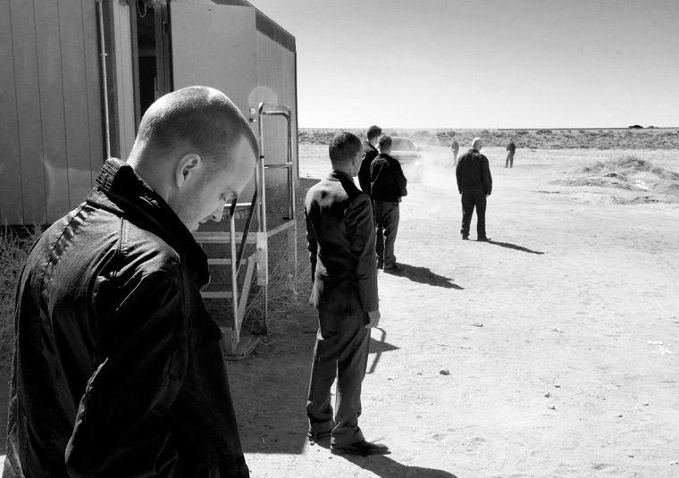 Breaking Bad Season 4 Black & White Photos