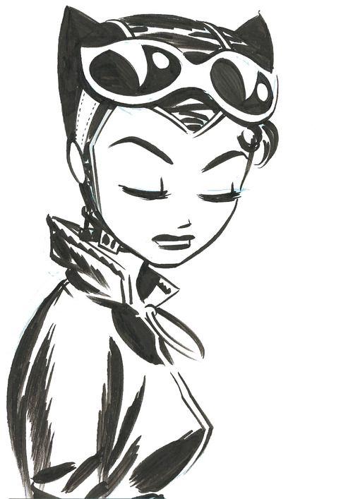 nos encanta esta mujer con cáracter y con estilo, Catwoman by Darwyn Cooke