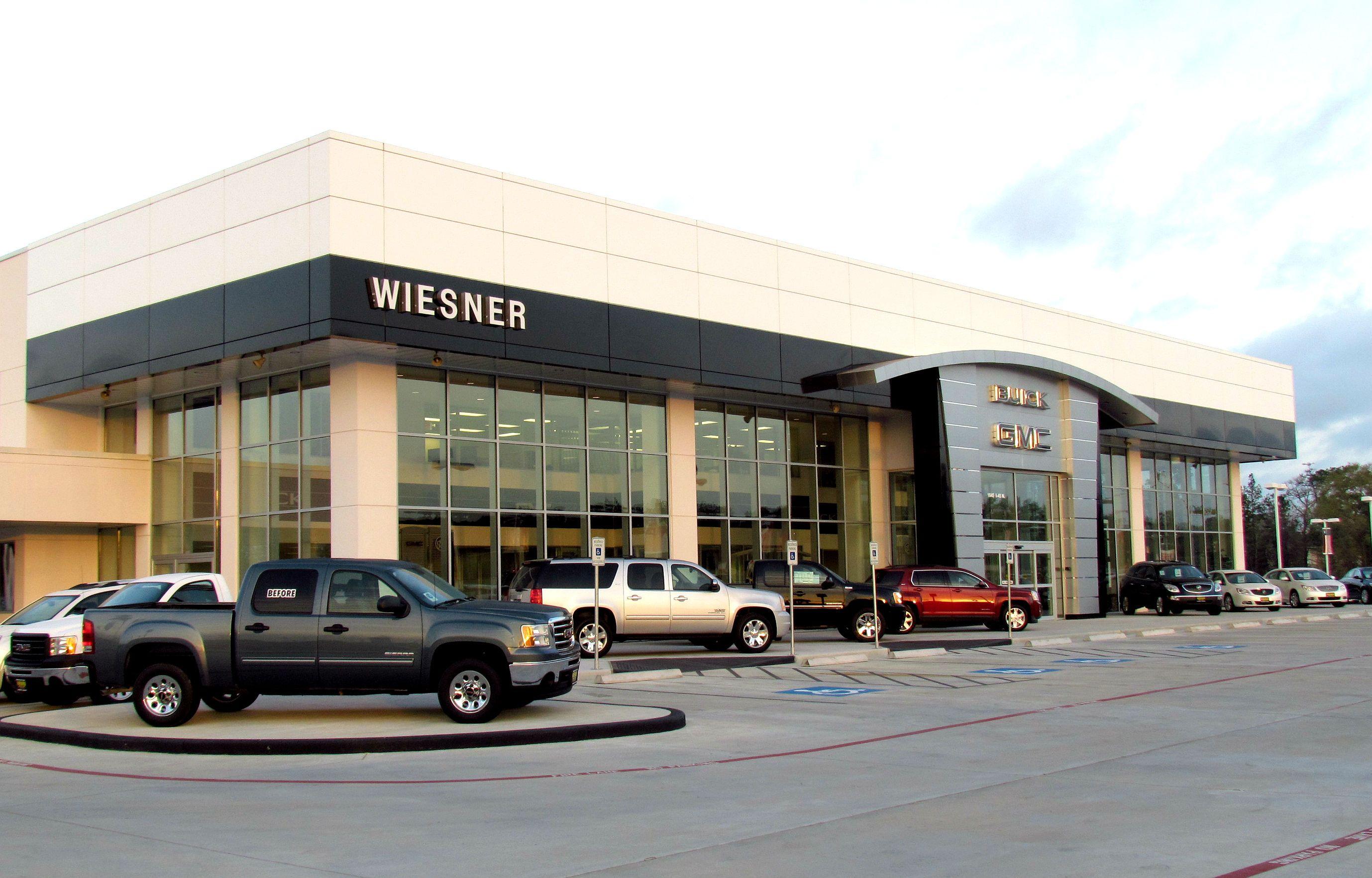 WIESNER BUICKGMC CONROE TX NEW FACILITY Buick gmc, Car