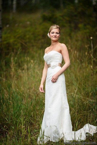 Bride deidre wearing a wedding gown from little white dress bridal bride deidre wearing a wedding gown from little white dress bridal shop in denver co junglespirit Gallery