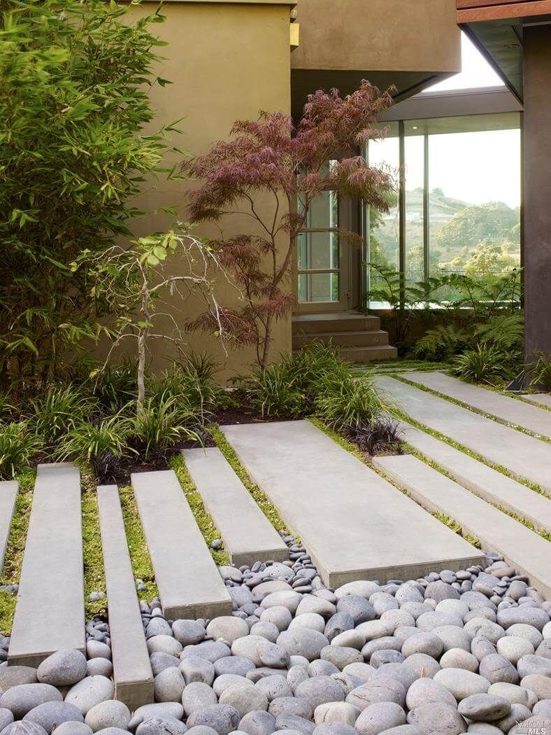 25 Fabulous Garden Path and Walkway Ideas   Pinterest   Natural ...