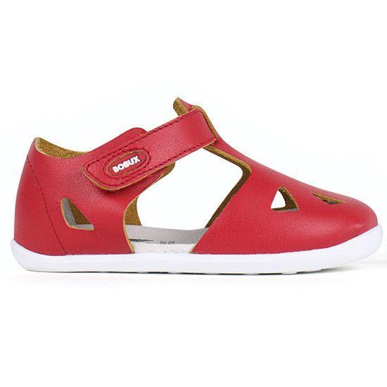 802e3d892dbb75 Bobux - Step Up Zap Sandal - Red - Little GEMS Boutique