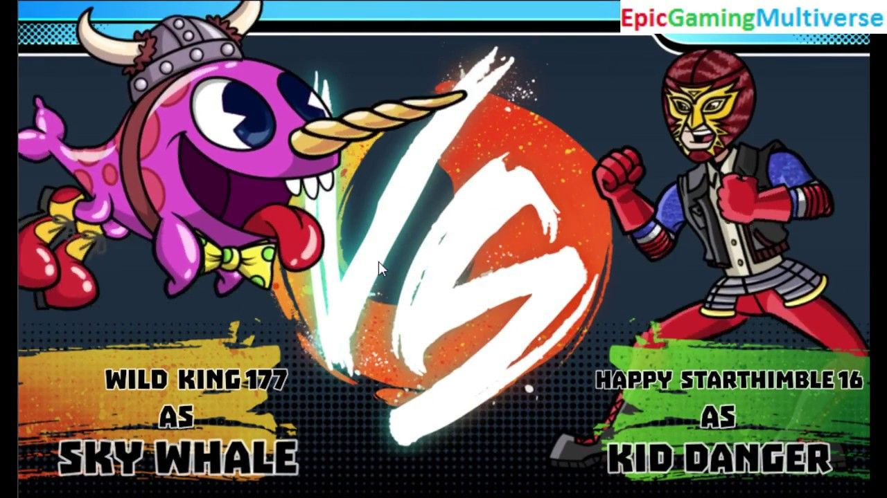 Kid Danger VS Sky Whale In A Nickelodeon Super Brawl World Brawlville PVP Mode Match / Battle This video showcases Gameplay of Kid Danger From The Henry Danger Series VS Sky Whale In A Nickelodeon Super Brawl World Brawlville PVP Mode Match / Battle / Fight