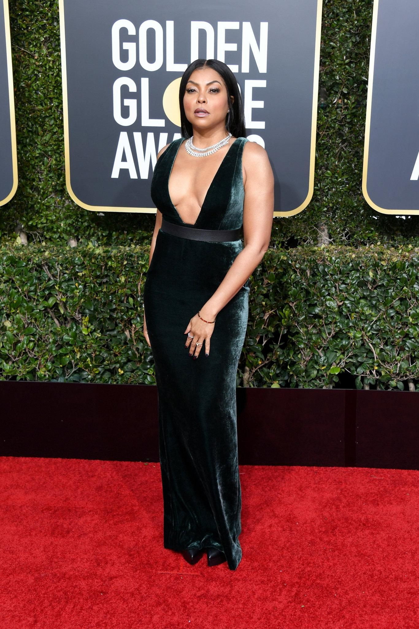 The Golden Globes Red Carpet Fashion The New York Times