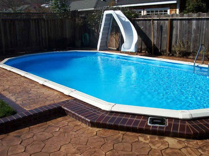 Above Ground Swimming Pools That Look In Ground | Outside The Home ...