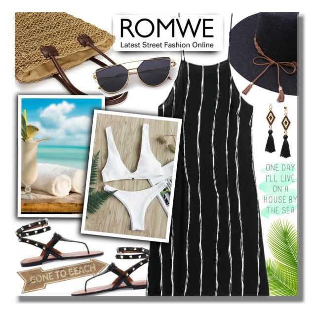 """#325 ~ ROMWE Contest"" by cresentia-titi ❤ liked on Polyvore featuring 20"
