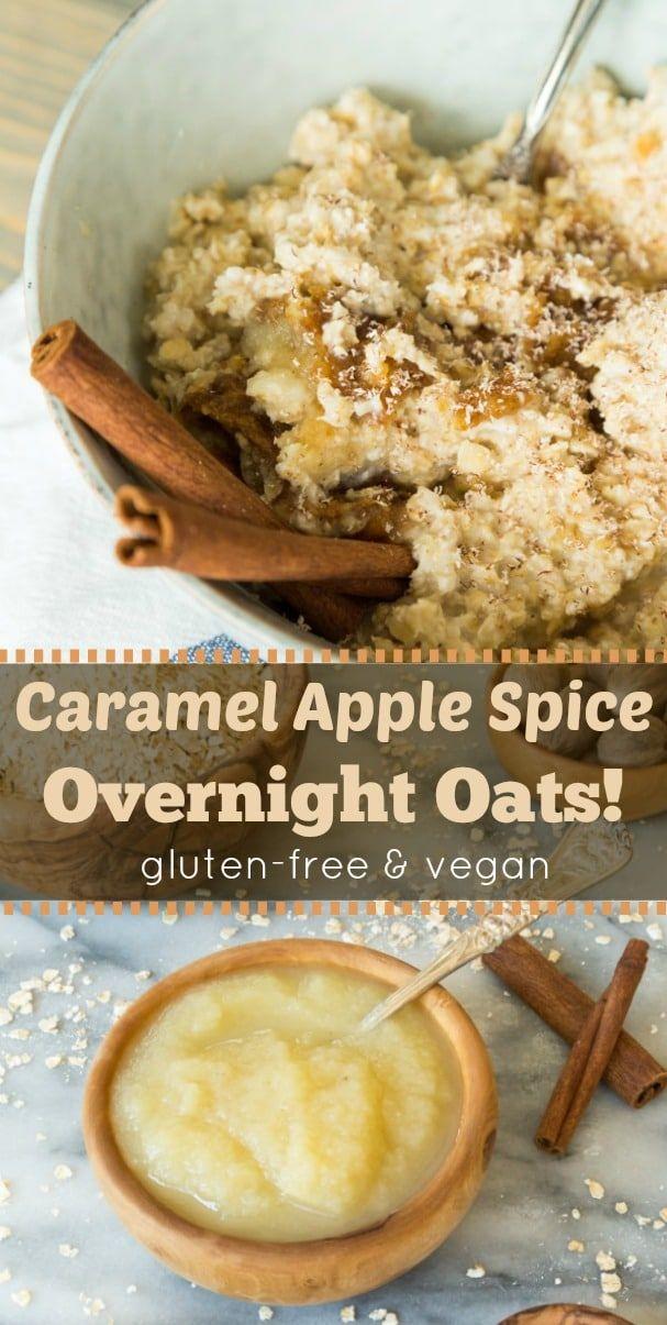 Apple Caramel Overnight Oats