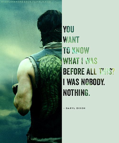Here Are The 11 Best Daryl Dixon Quotes The Walking Dead