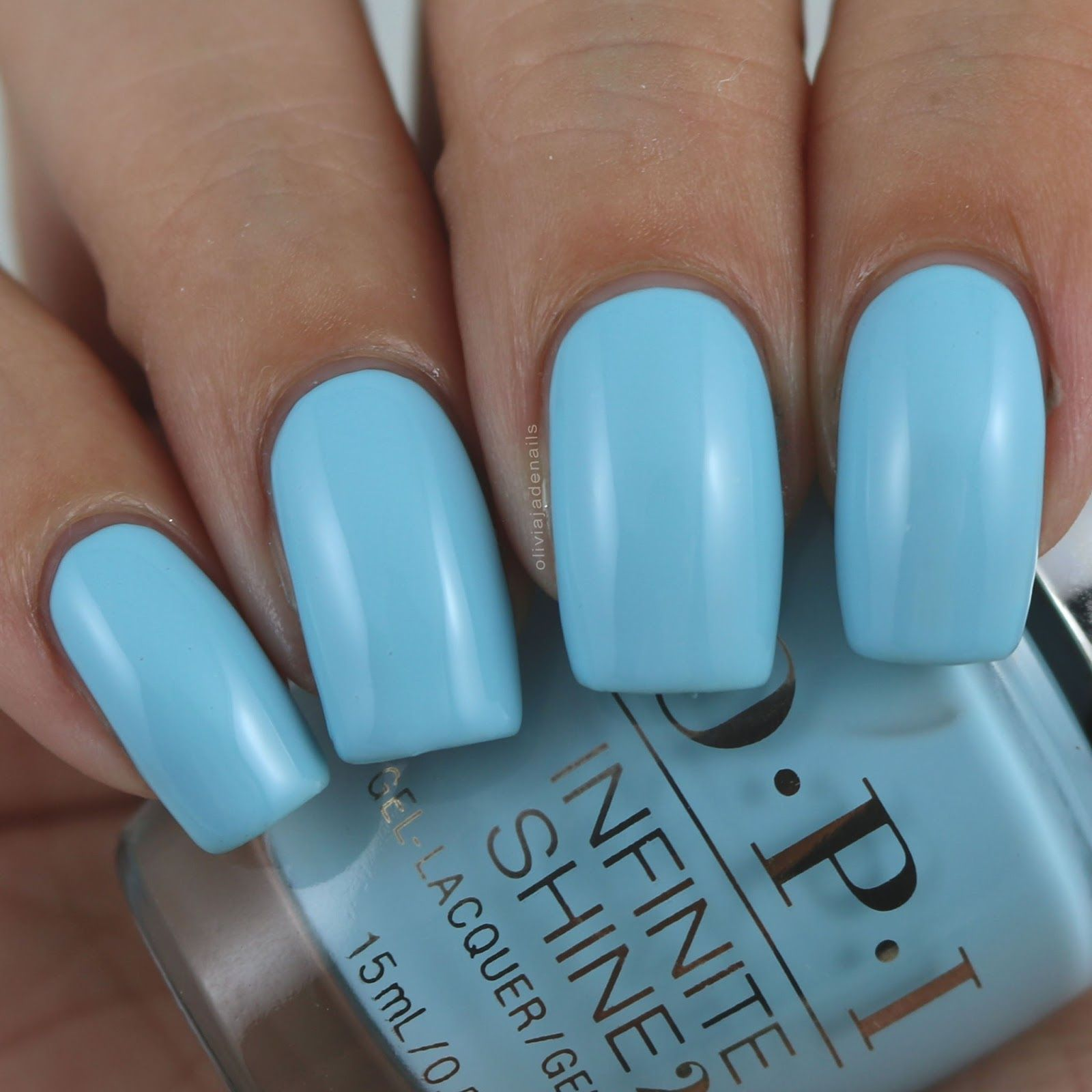 OPI I Believe In Manicures swatched by Olivia Jade Nails