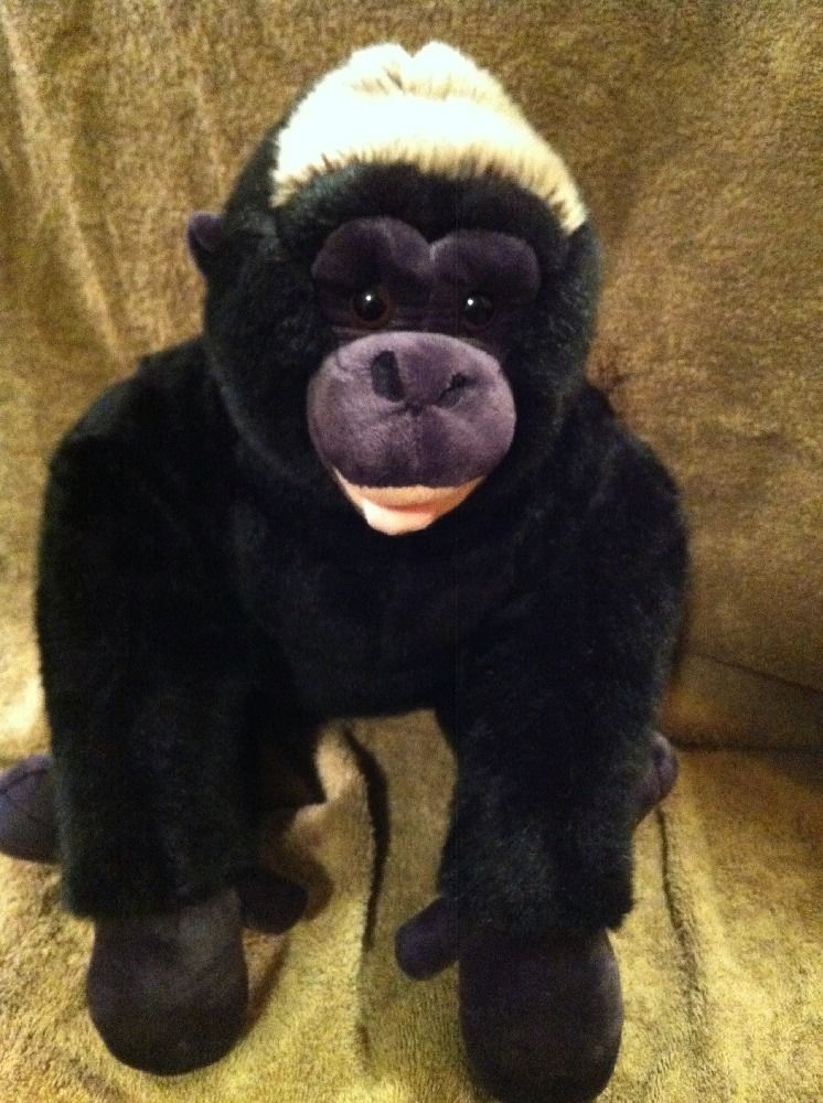Build A Bear Plush 15 Quot Silverback Gorilla Build A Bear