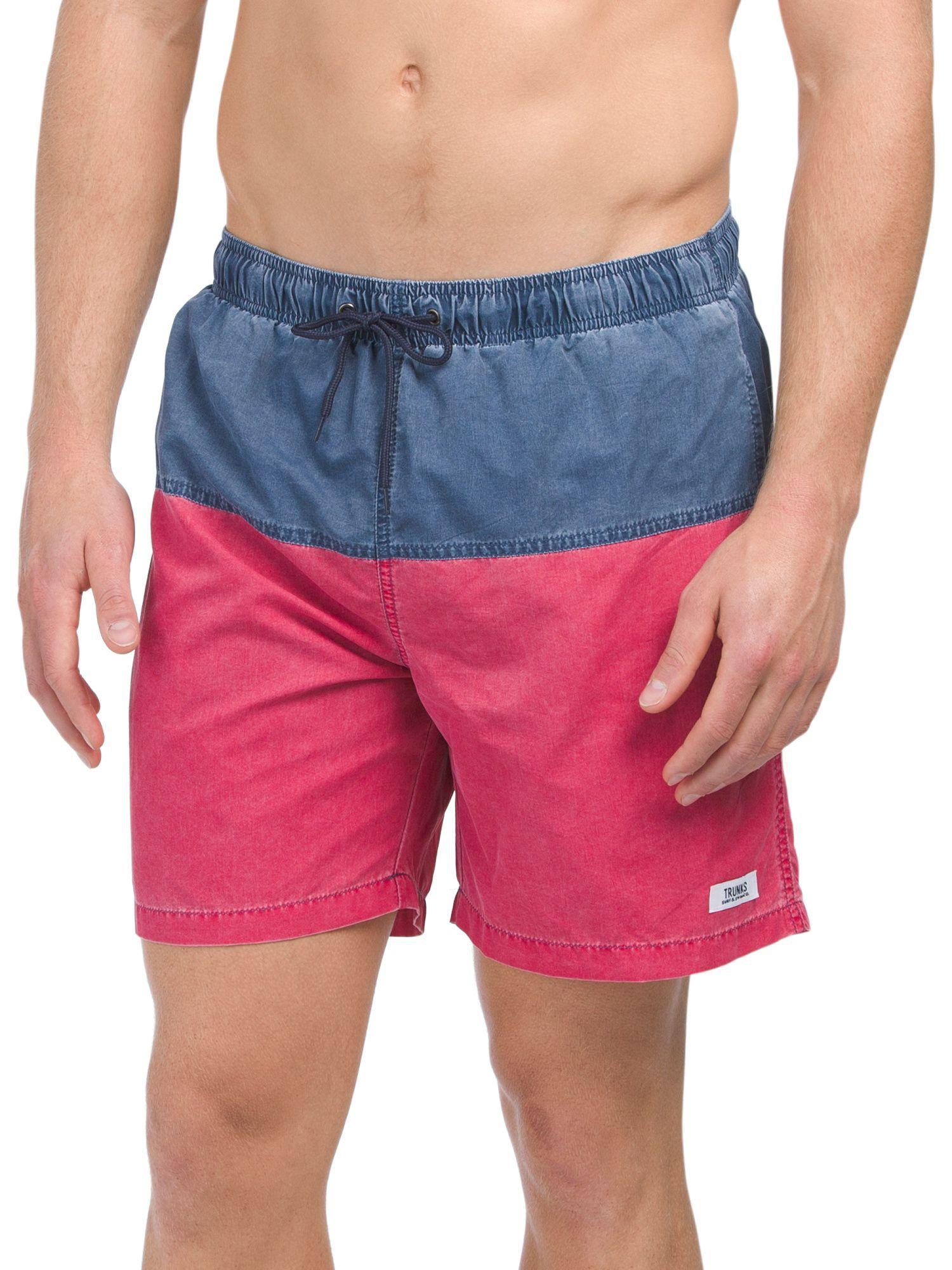 f7147b9b64 Nylon Pigment Board Shorts | Products | Drawstring waist, Swim ...