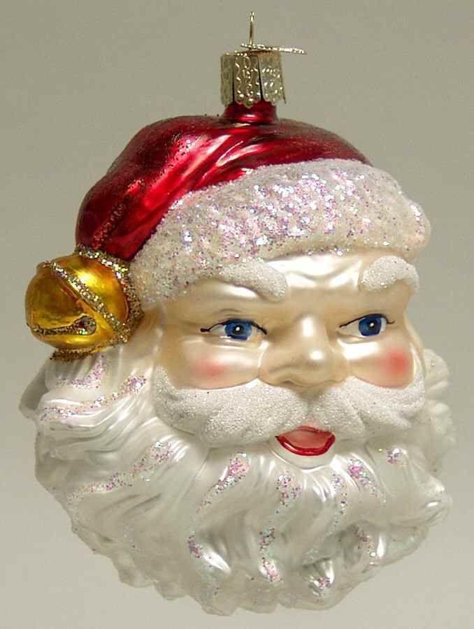 Merck Family's OLD WORLD CHRISTMAS ORNAMENT Jingle Bell Santa 4632823 - Merck Family's OLD WORLD CHRISTMAS ORNAMENT Jingle Bell Santa