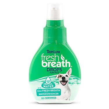 TropiClean® Fresh Breath® Dog Drops Fresh breath, Water