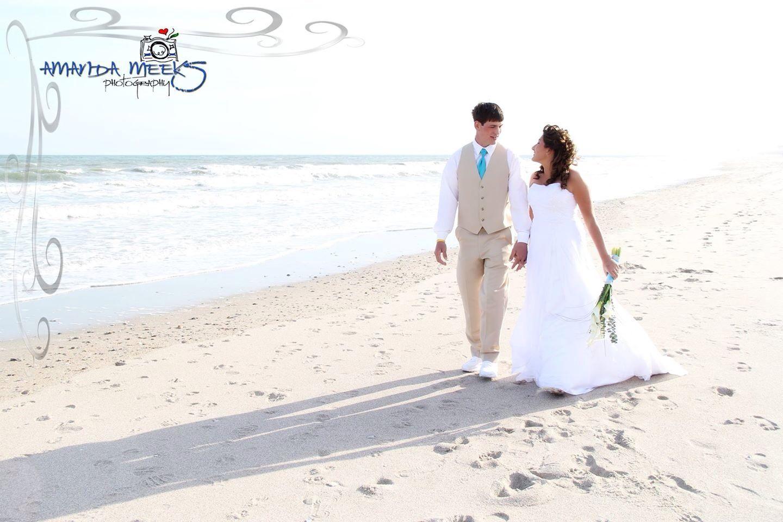 Beach Wedding March 2014 Amanda Meeks Photography Myrtle