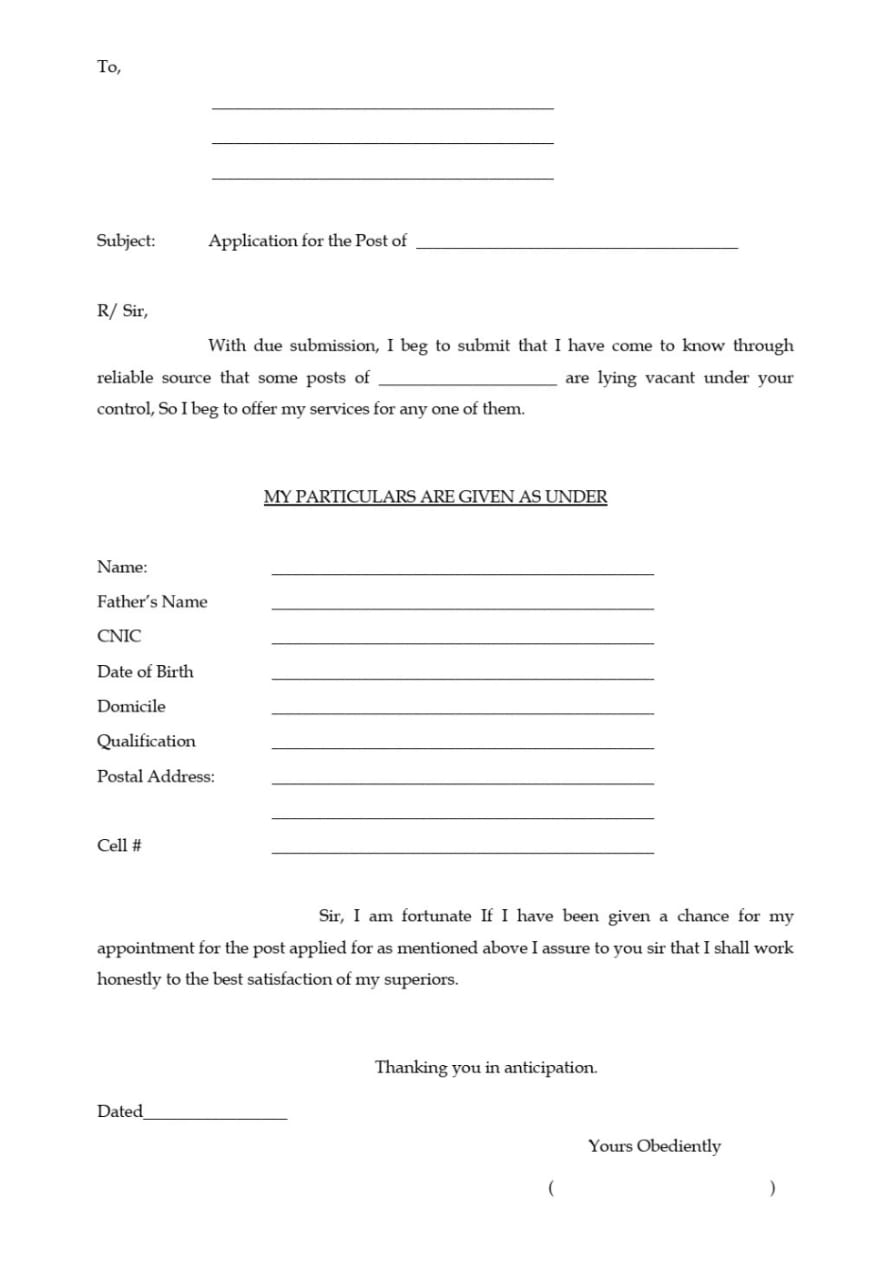 Application for Applying Every Post allpaknotifications