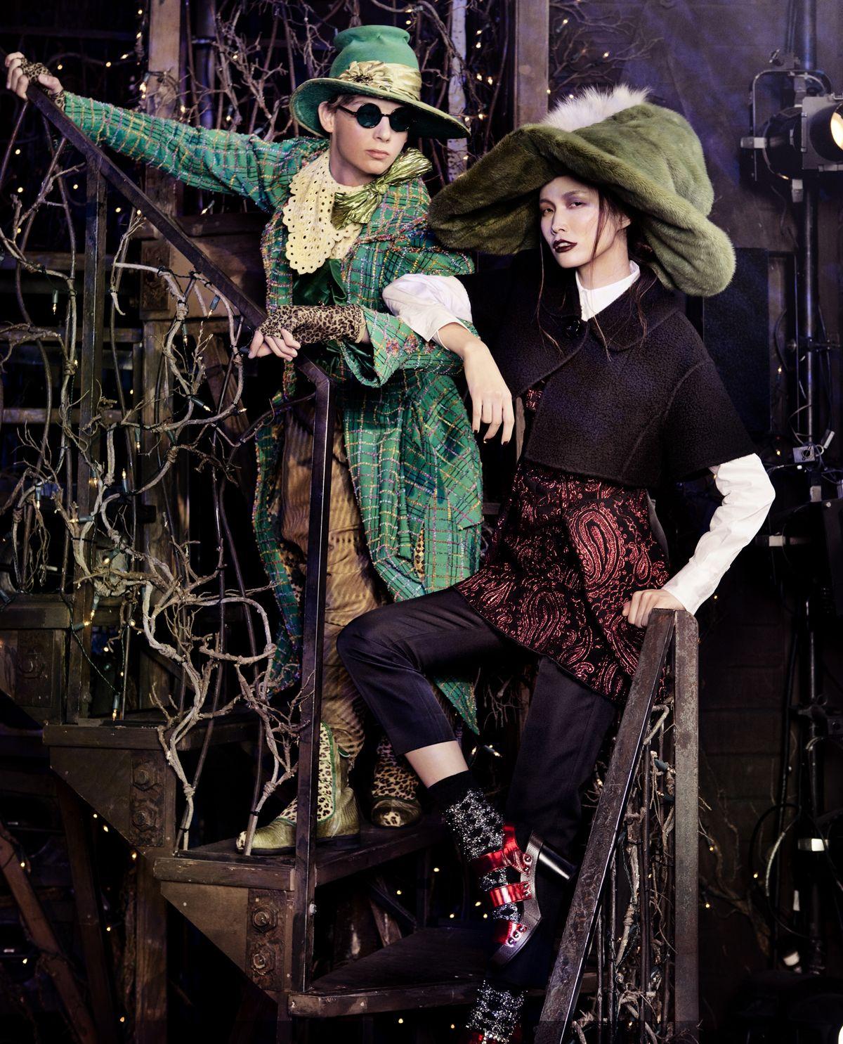 Witch Hunts Vogue Korea 2012