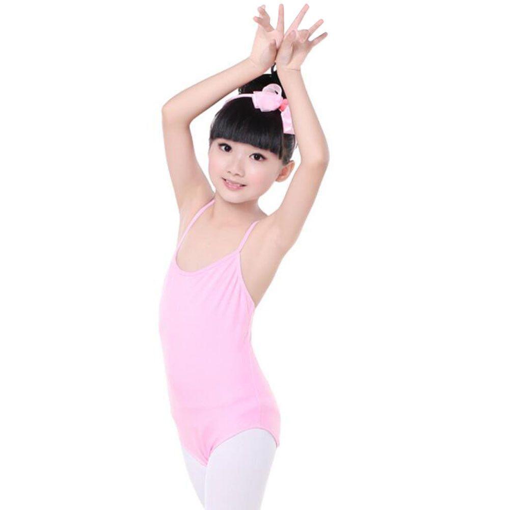 d801392eb 100% Cotton Gymnastics Leotards for Girls Leotard Dance Costumes ...