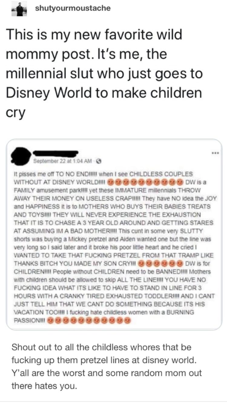 """Photo of Können wir einen """"kinderlosen Millennial Day"""" in den Disney Parks haben, es ist wie normal …"""