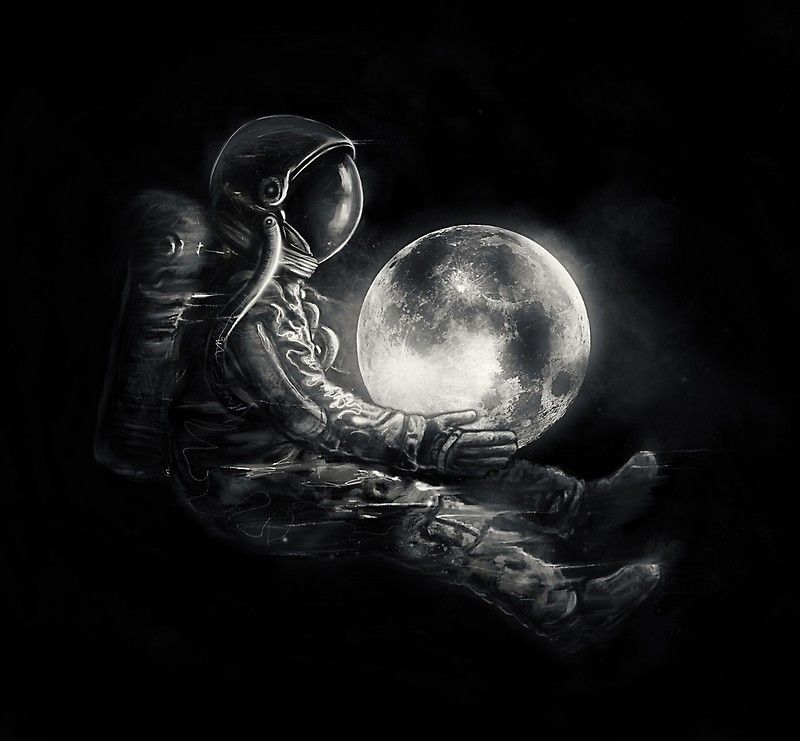 Moon Play Photographic Print