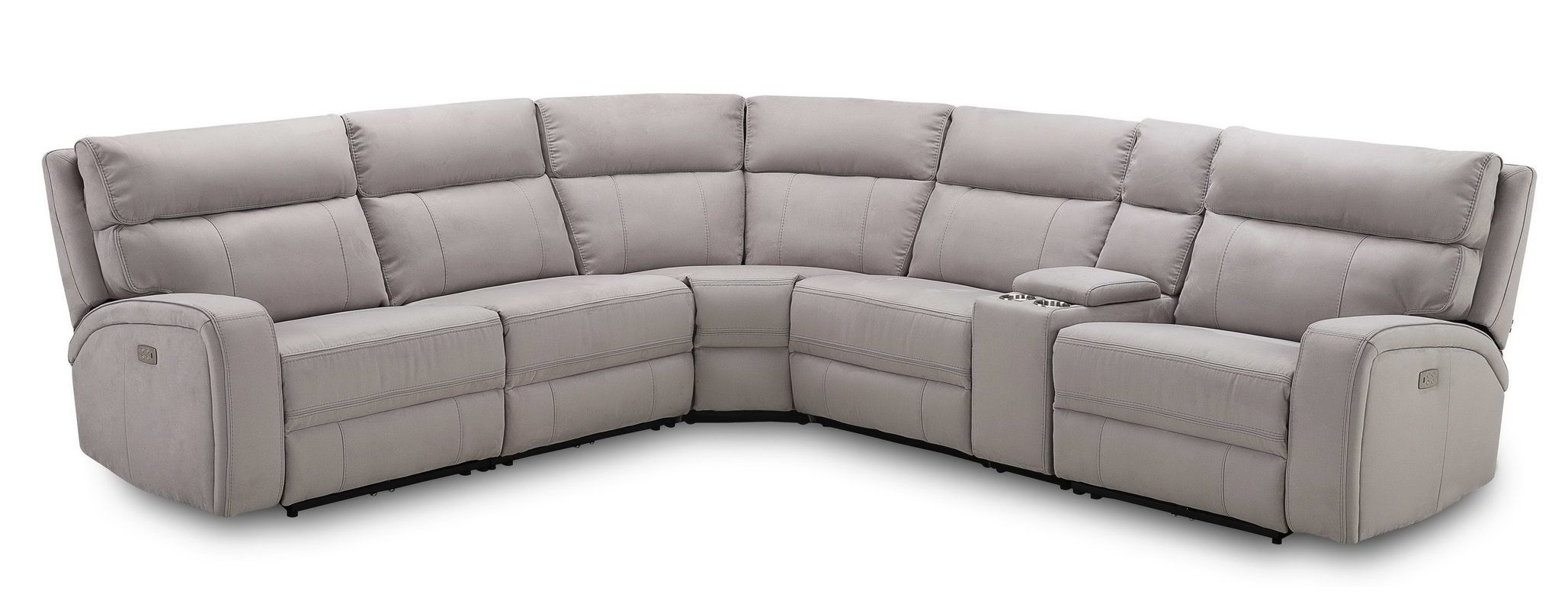Arty 135 Wide Faux Leather Right Hand Facing Reclining Corner Sectional Fabric Sectional Sofas Fabric Sectional Leather Reclining Sectional