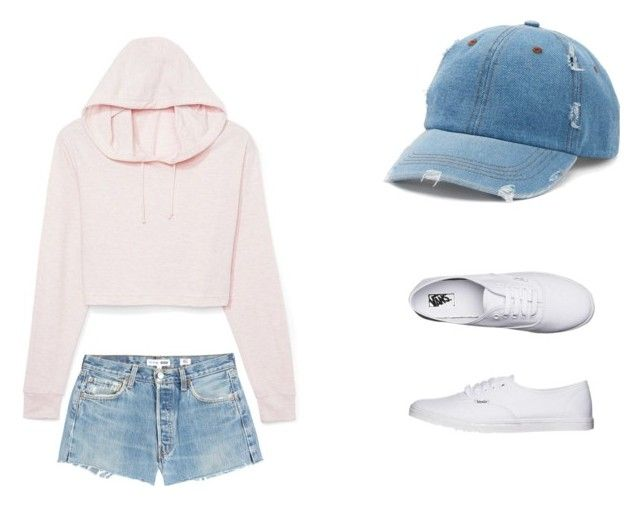 """Untitled #6"" by alison8446 on Polyvore featuring RE/DONE, Mudd and Vans"