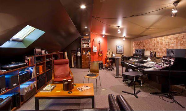15 Design Ideas For Home Music Rooms And Studios Homemusic Room