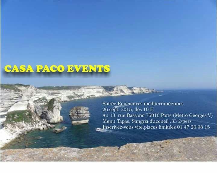 CASA PPACO EVENTS SOIREE MEDITERRANENNE