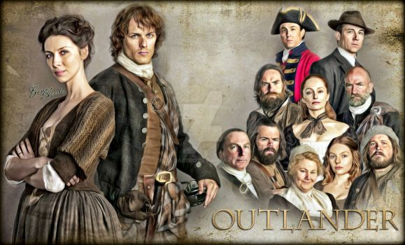 OUTLANDER SEASON 1 by GenoAcedo