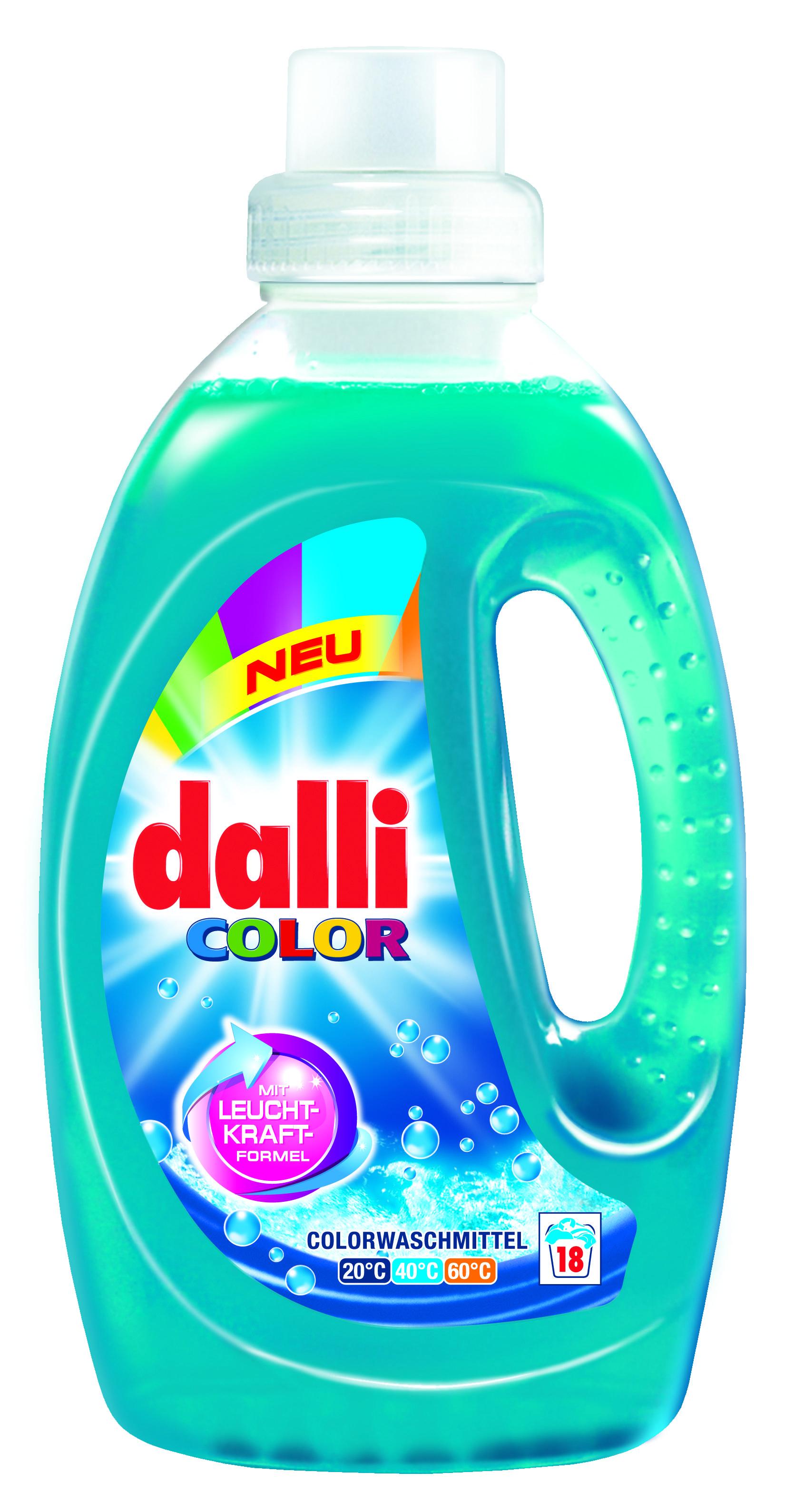 Dalli Color Laundry Detergent Plastic Bottle Design Shampoo