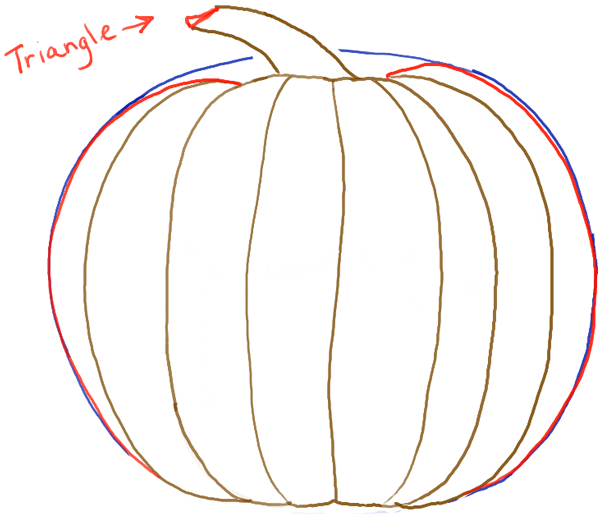pumpkin step halloween simple drawing pictures www